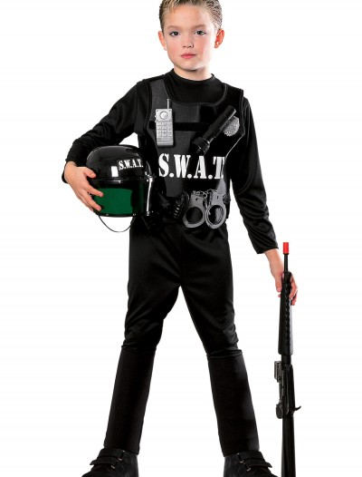 Child SWAT Costume, halloween costume (Child SWAT Costume)