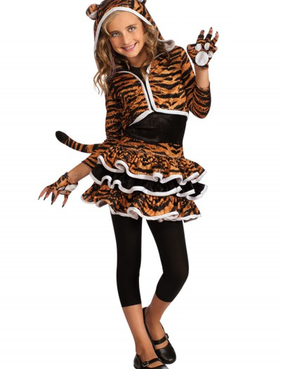 Child Tigress Hoodie, halloween costume (Child Tigress Hoodie)