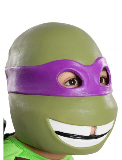 Child TMNT Donatello 3/4 Mask, halloween costume (Child TMNT Donatello 3/4 Mask)
