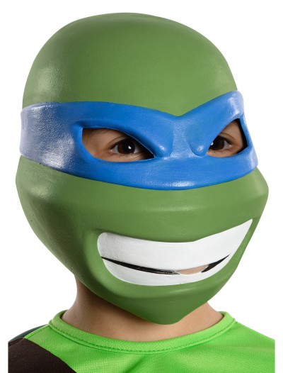 Child TMNT Leonardo 3/4 Mask, halloween costume (Child TMNT Leonardo 3/4 Mask)