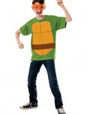 Child TMNT Michelangelo Costume Top, halloween costume (Child TMNT Michelangelo Costume Top)