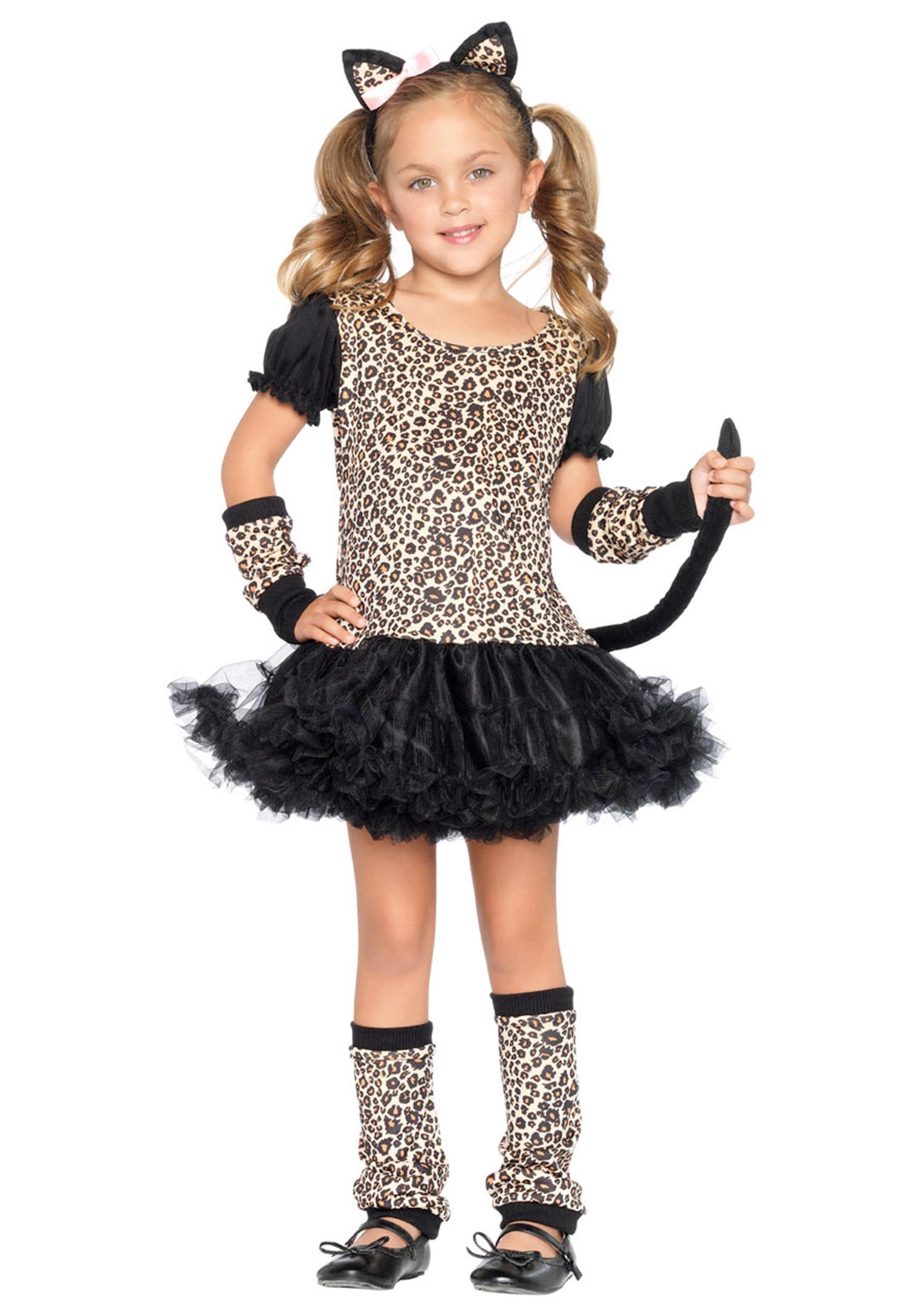 Child Tutu Leopard Costume Halloween Costumes