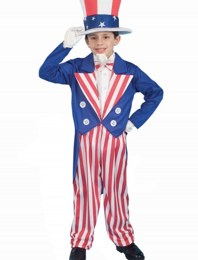 Child Uncle Sam Costume, halloween costume (Child Uncle Sam Costume)