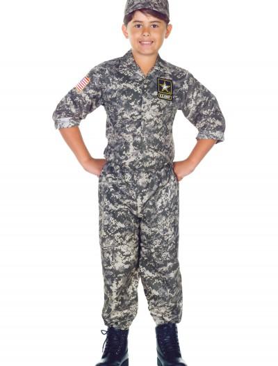 Child U.S. Army Camo Costume, halloween costume (Child U.S. Army Camo Costume)
