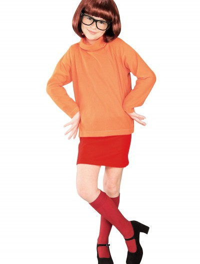 Child Velma Costume, halloween costume (Child Velma Costume)