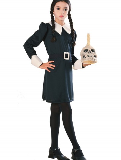 Child Wednesday Addams Costume, halloween costume (Child Wednesday Addams Costume)
