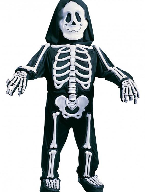 Child White Skeleton Costume, halloween costume (Child White Skeleton Costume)