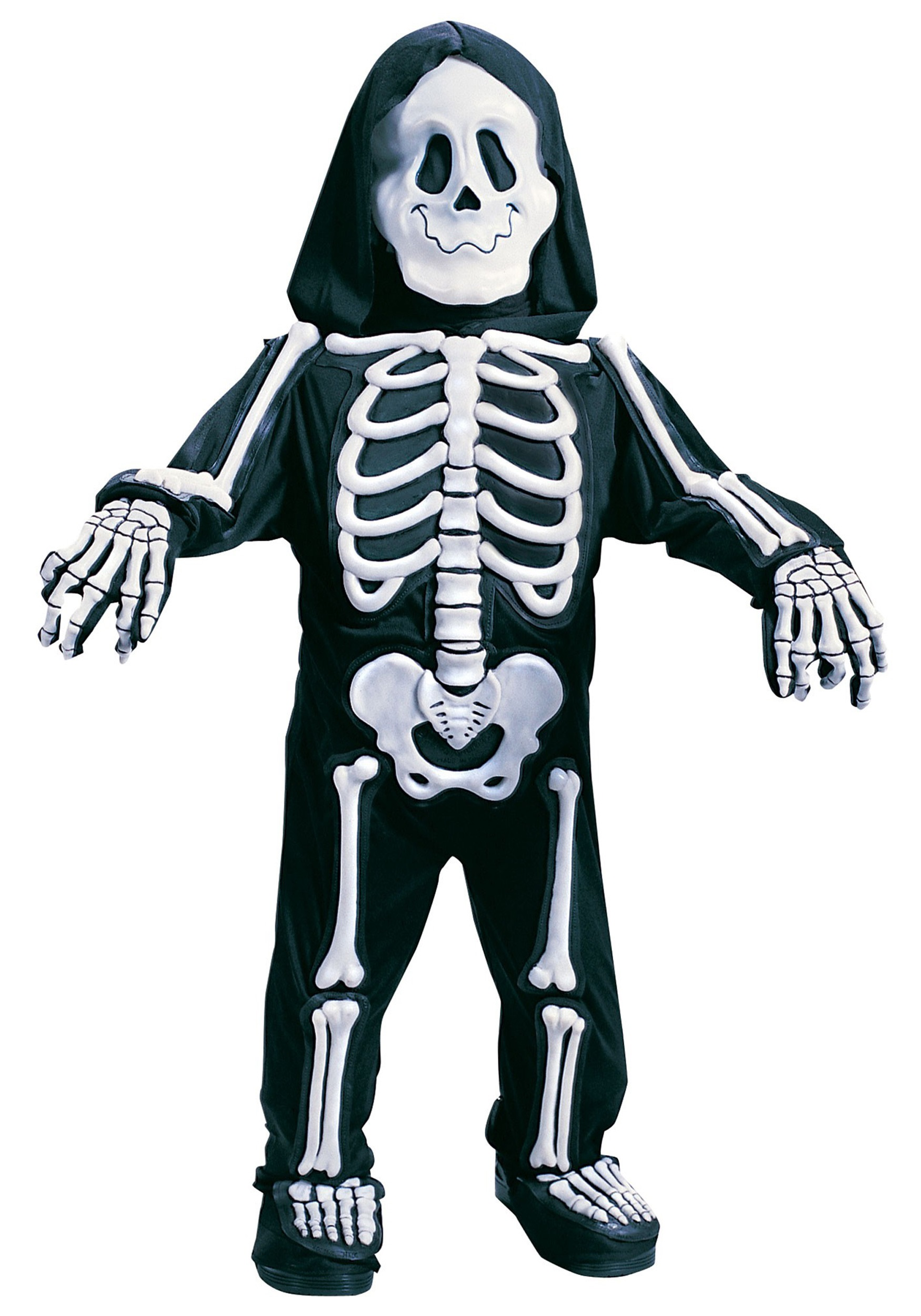 Child White Skeleton Costume  sc 1 st  Halloween Costumes & Child White Skeleton Costume - Halloween Costumes