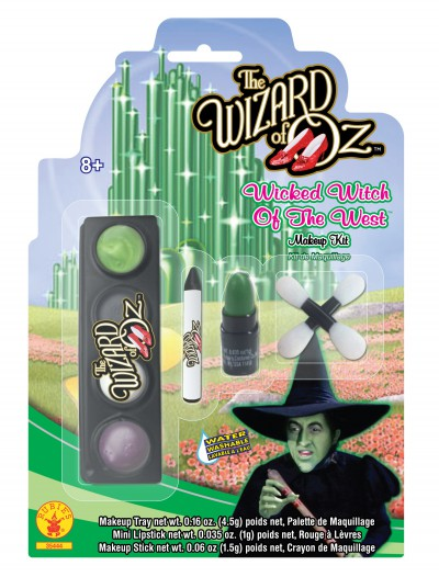 Child Wicked Witch Makeup Kit, halloween costume (Child Wicked Witch Makeup Kit)
