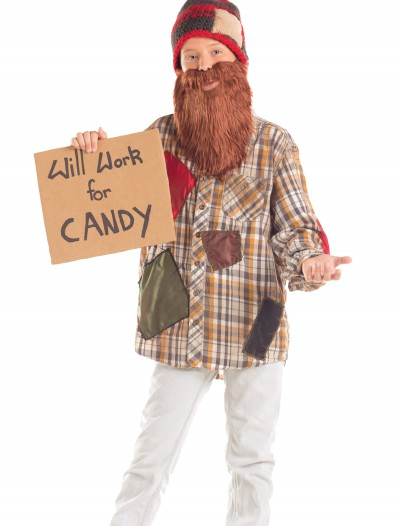 Child Will Work For Candy Hobo Costume, halloween costume (Child Will Work For Candy Hobo Costume)