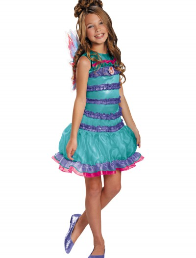 Child Winx Club Classic Bloom Costume, halloween costume (Child Winx Club Classic Bloom Costume)