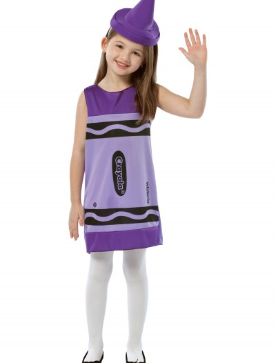 Child Wisteria Crayon Dress, halloween costume (Child Wisteria Crayon Dress)