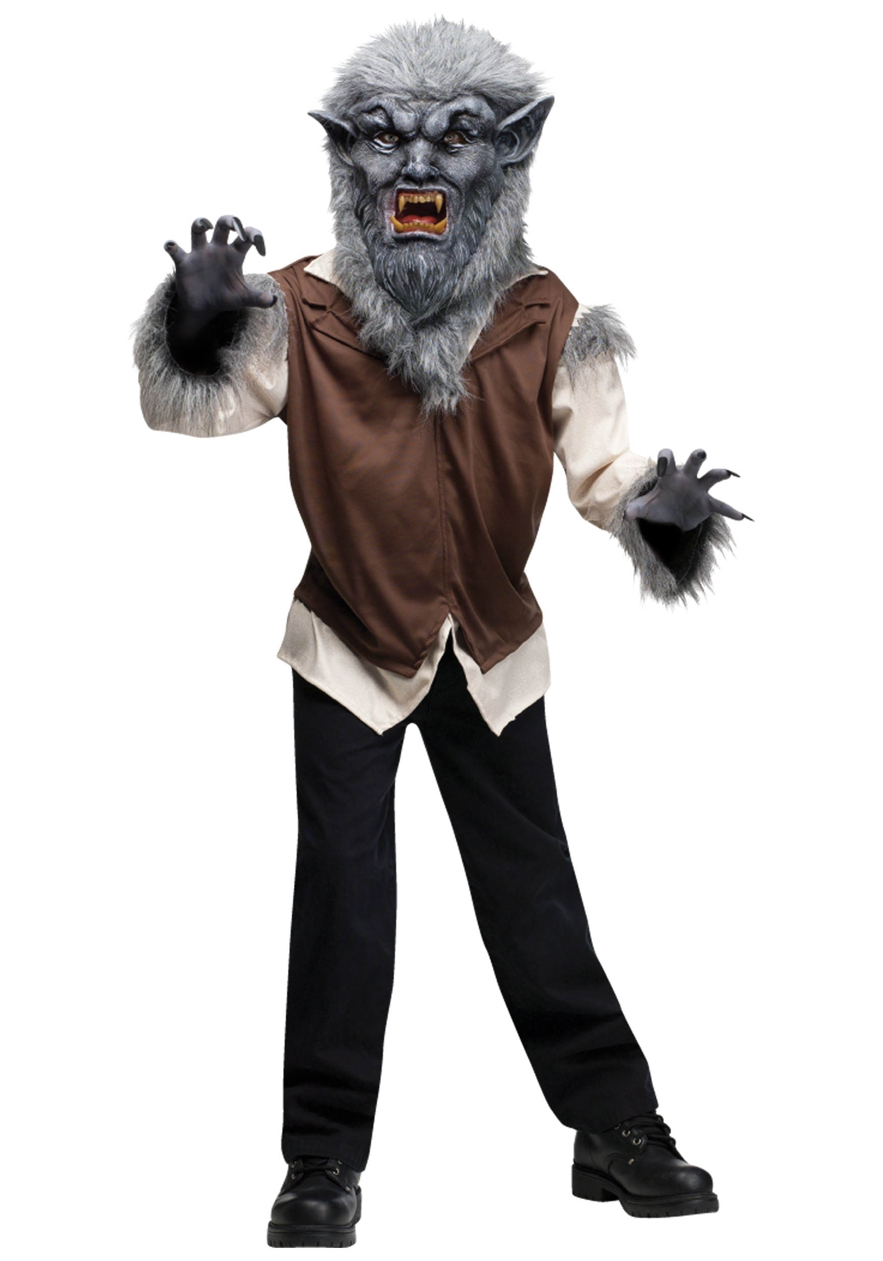 child wolf man costume - Wolf Halloween Costume Kids