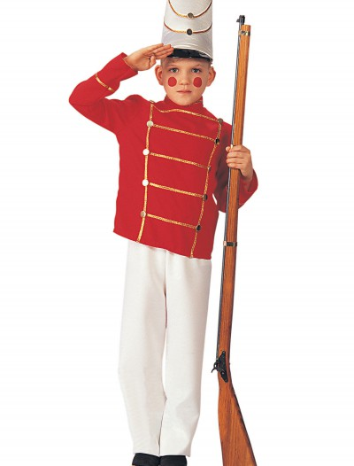 Child Wooden Soldier Costume, halloween costume (Child Wooden Soldier Costume)
