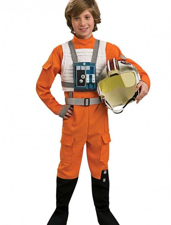 Child X-Wing Pilot, halloween costume (Child X-Wing Pilot)