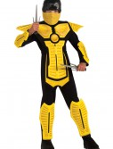 Child Yellow Ninja Costume, halloween costume (Child Yellow Ninja Costume)