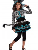 Child Zebra Hoodie Costume, halloween costume (Child Zebra Hoodie Costume)