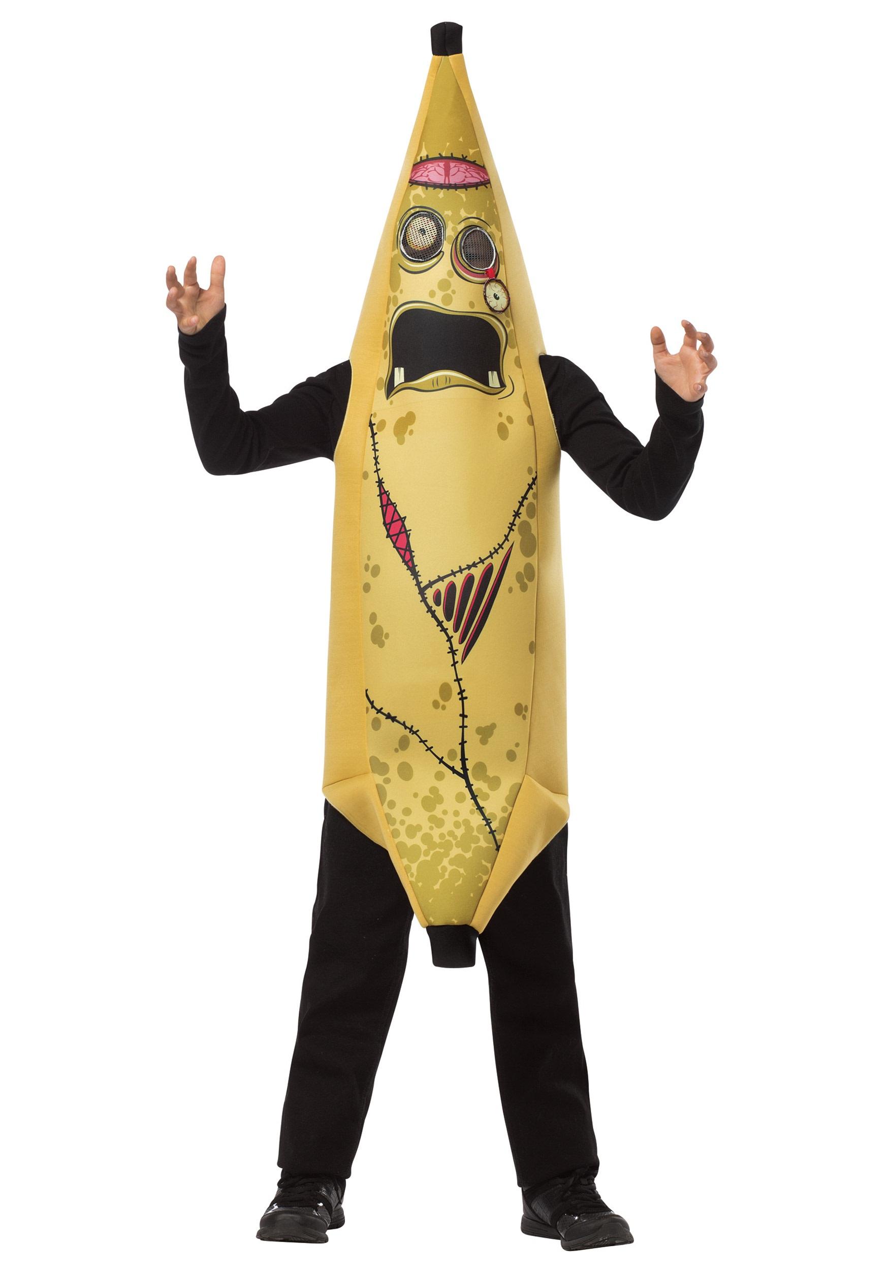child zombie banana costume - halloween costumes