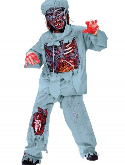 Child Zombie Doctor Costume, halloween costume (Child Zombie Doctor Costume)