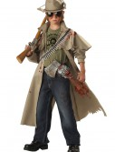 Child Zombie Hunter Costume, halloween costume (Child Zombie Hunter Costume)