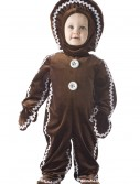 Childrens Gingerbread Man Costume, halloween costume (Childrens Gingerbread Man Costume)