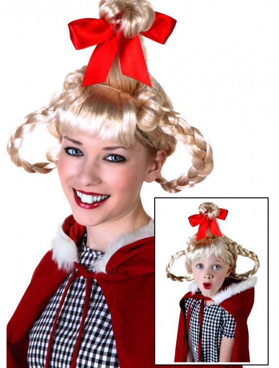 Christmas Girl Wig, halloween costume (Christmas Girl Wig)