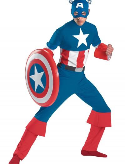 Classic Captain America Costume, halloween costume (Classic Captain America Costume)
