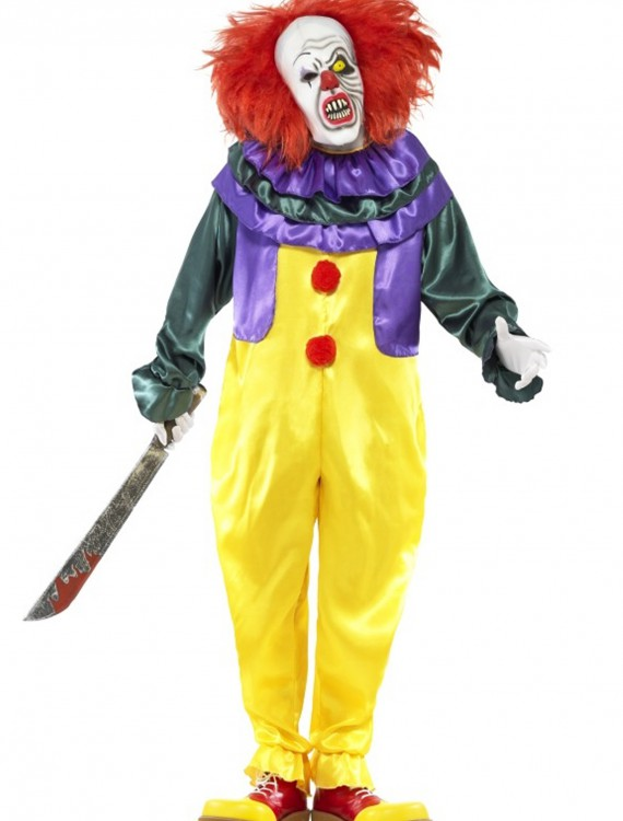 Classic Horror Clown Costume, halloween costume (Classic Horror Clown Costume)
