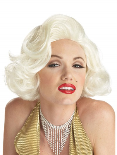 Classic Marilyn Costume Wig, halloween costume (Classic Marilyn Costume Wig)