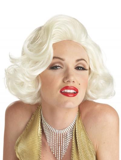 Classic Marilyn Costume Wig, halloween costume (Classic Marilyn Costume Wig)