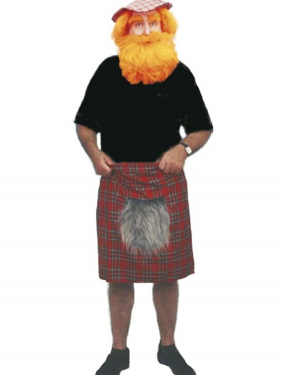 Classic Scottish Kilt, halloween costume (Classic Scottish Kilt)