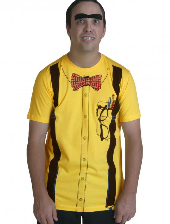 Classic Yellow Nerd T-Shirt, halloween costume (Classic Yellow Nerd T-Shirt)