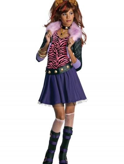 Clawdeen Wolf Costume, halloween costume (Clawdeen Wolf Costume)