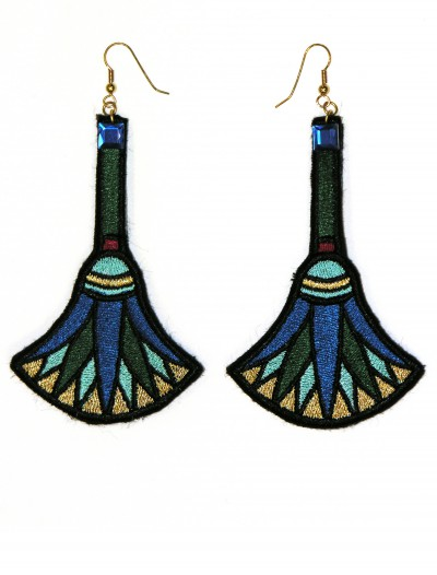 Cleopatra Earrings, halloween costume (Cleopatra Earrings)