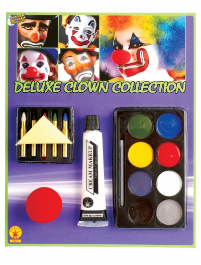 Clown Makeup Set, halloween costume (Clown Makeup Set)