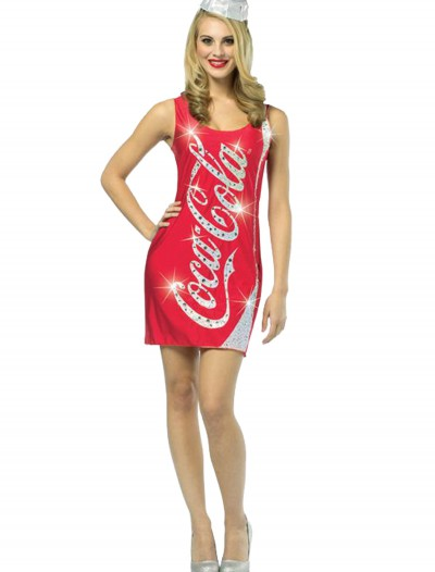 Coca-Cola Glitz Dress, halloween costume (Coca-Cola Glitz Dress)