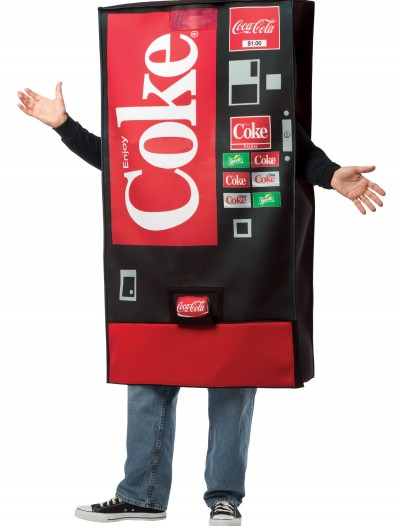 Coca-Cola Vending Machine Costume, halloween costume (Coca-Cola Vending Machine Costume)