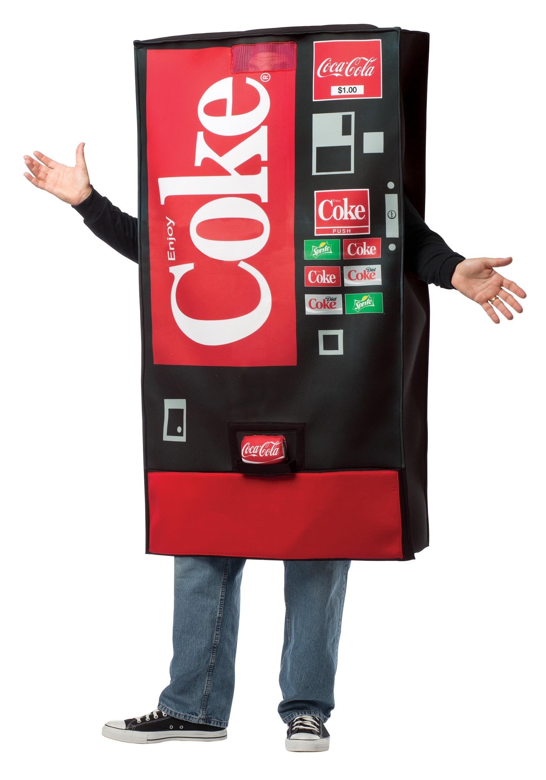 coca cola vending machine costume halloween costumes