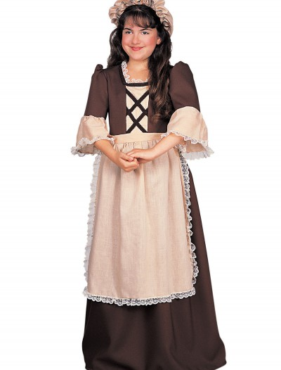 Colonial Girl Costume, halloween costume (Colonial Girl Costume)