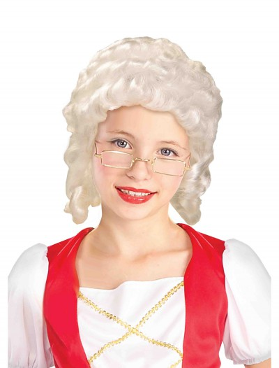 Colonial Girl Wig, halloween costume (Colonial Girl Wig)