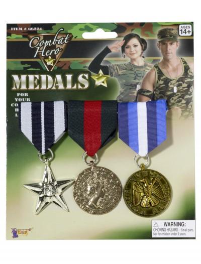 Combat Hero Medals, halloween costume (Combat Hero Medals)
