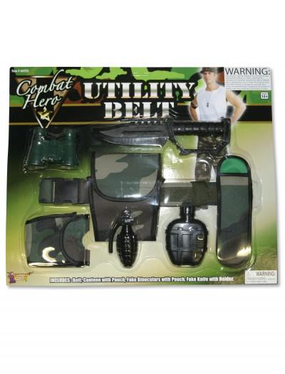 Combat Hero Utility Belt, halloween costume (Combat Hero Utility Belt)