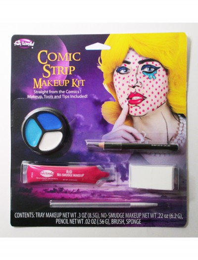 Comic Bookz Makeup, halloween costume (Comic Bookz Makeup)