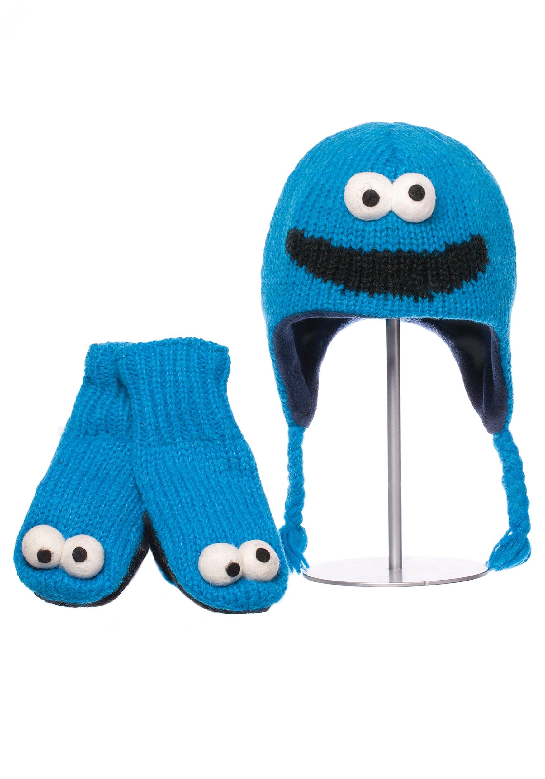 cookie monster toddler hat - halloween costumes