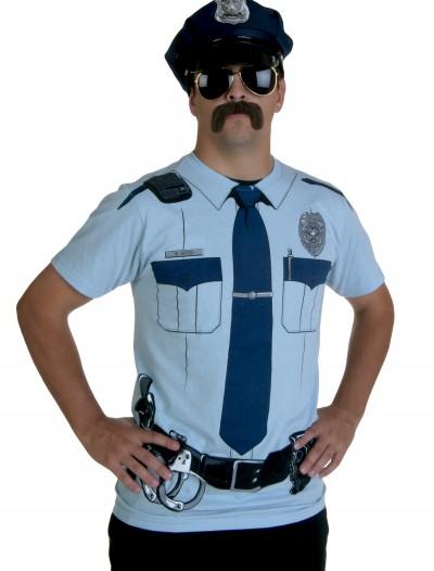 Cop Costume T-Shirt, halloween costume (Cop Costume T-Shirt)