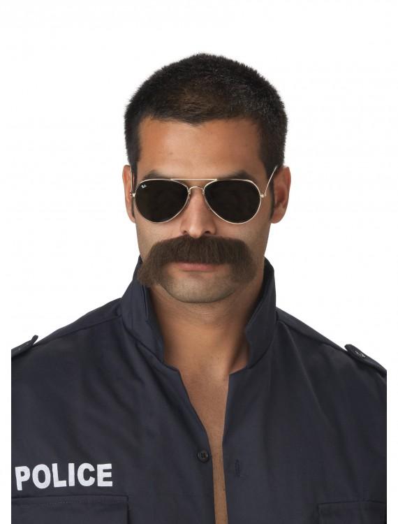 Cop Mustache, halloween costume (Cop Mustache)