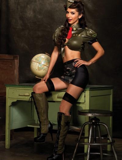 Corporal Cutie Costume, halloween costume (Corporal Cutie Costume)
