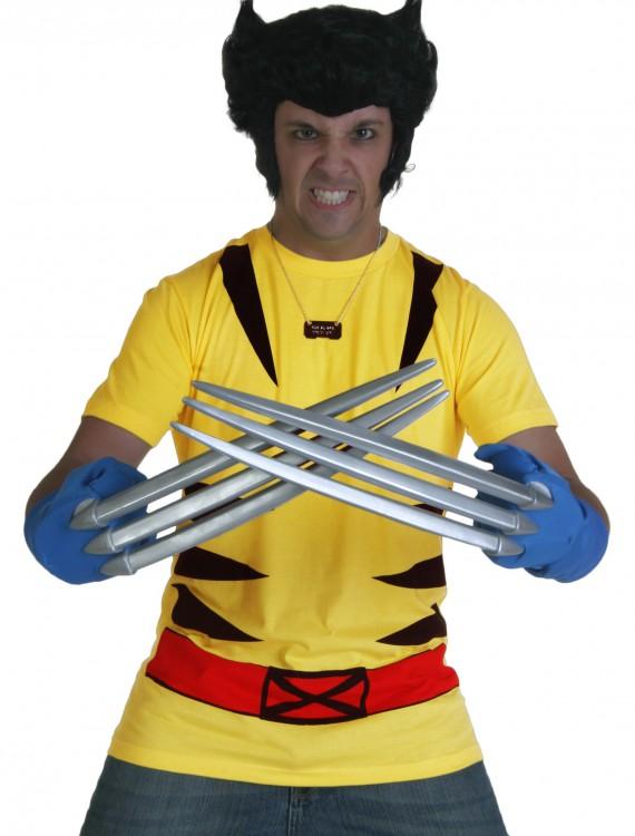 Costume X-Men Wolverine T-Shirt, halloween costume (Costume X-Men Wolverine T-Shirt)