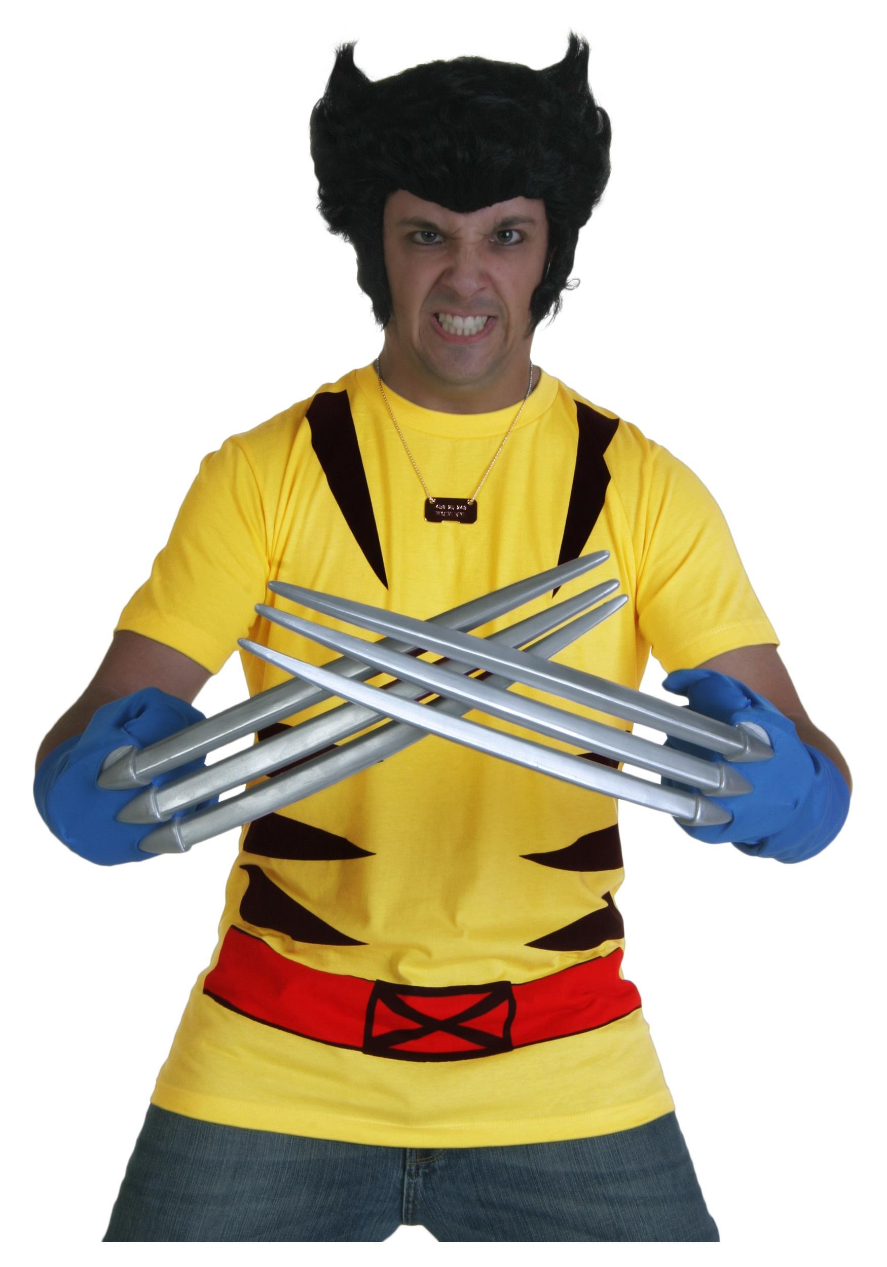 costume x-men wolverine t-shirt - halloween costumes