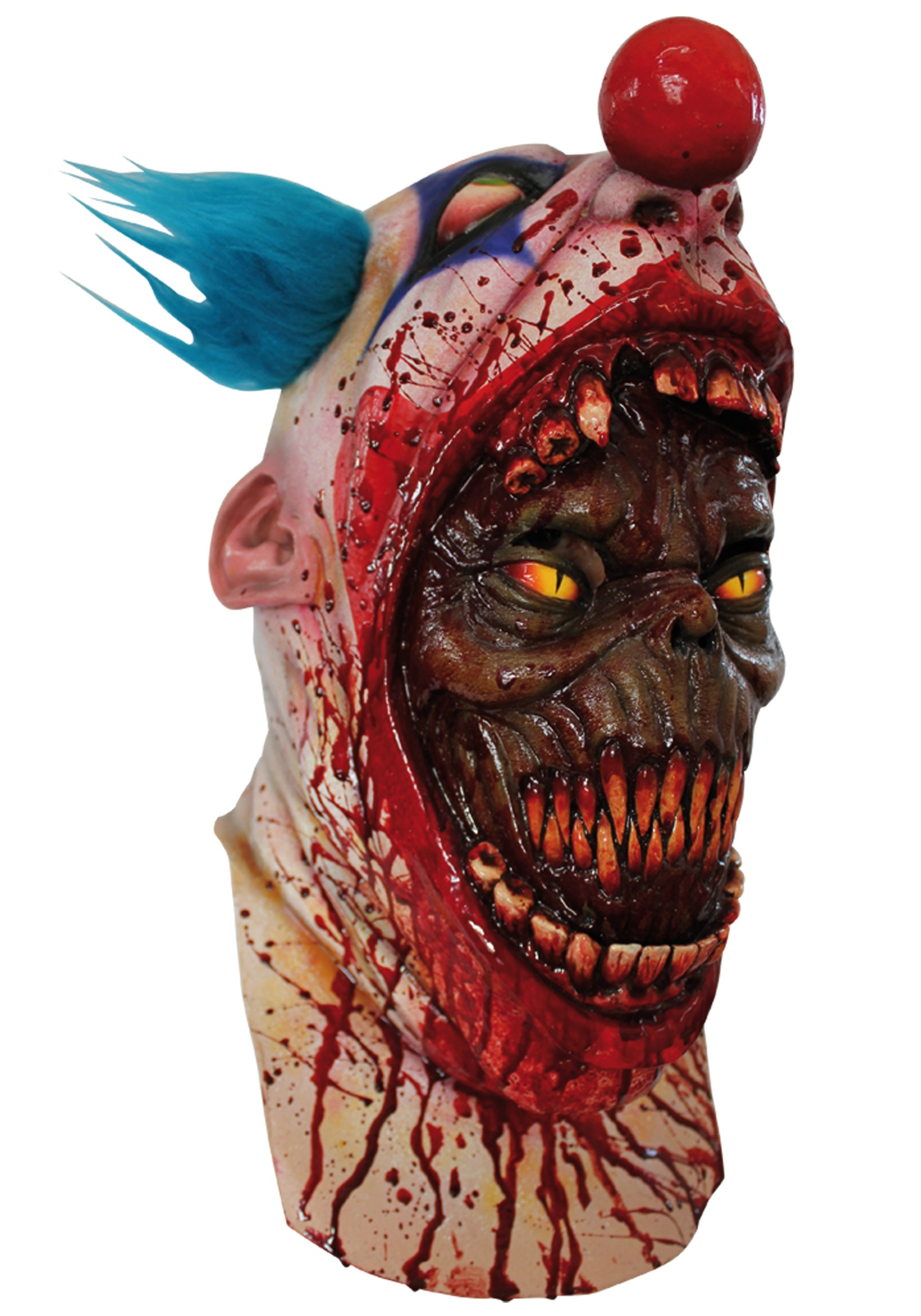 coulrophobia clown mask - halloween costumes